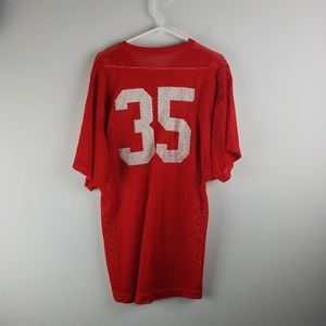 Russell Athletic Shirts - RUSSELL VTG ATHLETIC POLYESTER MESH FOOTBALL
